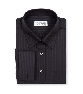 shirts cotton onyx black striped 1