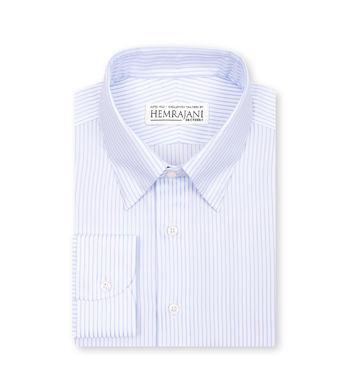 shirts cotton sky blue white light blue striped 1