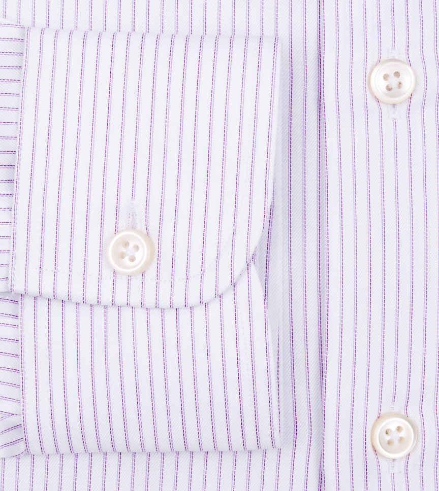 Double Plum Lavender Striped by Hemrajani Product Image
