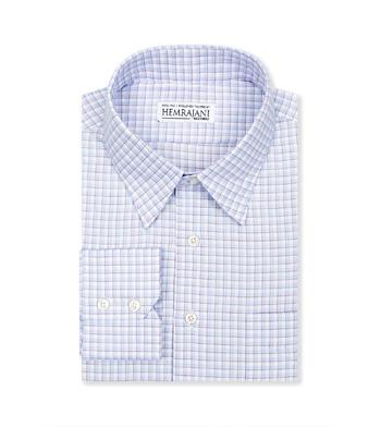 shirts cotton carolina blue and brown light blue check