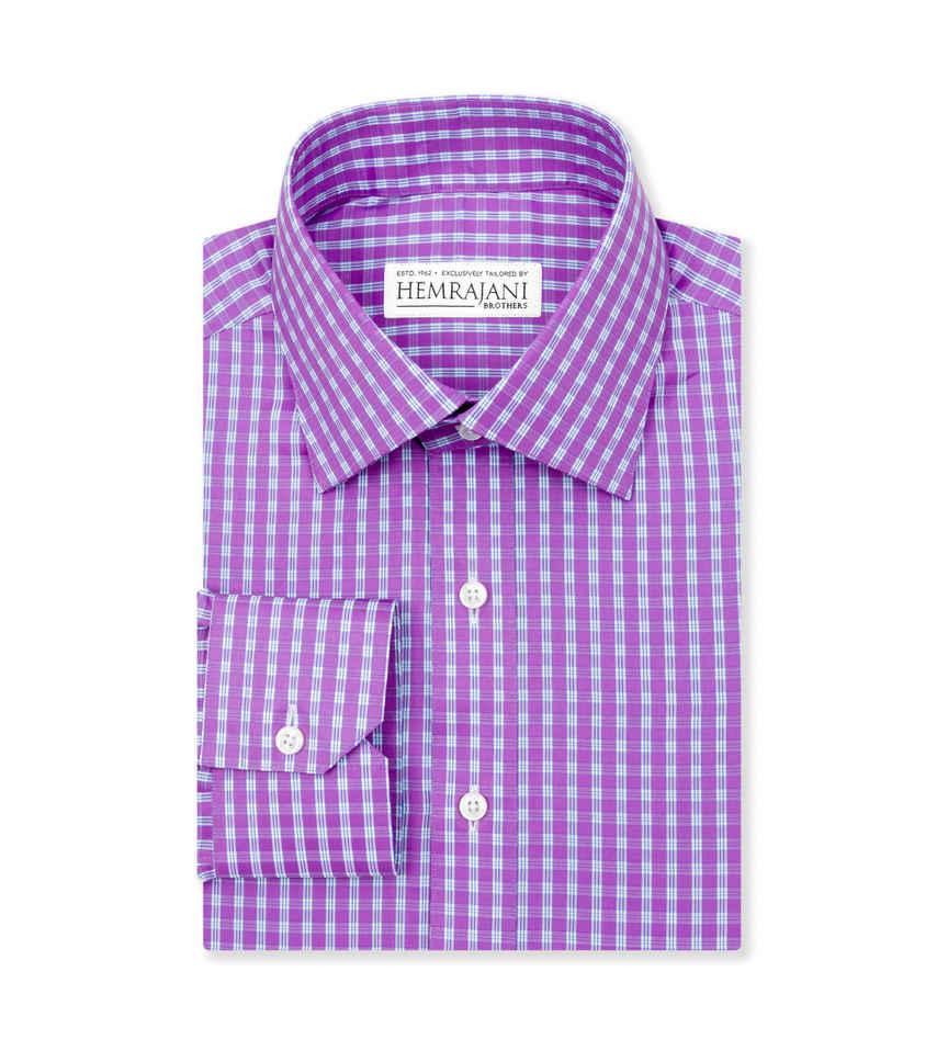 The Exotic Purple Check by Hemrajani Product Image