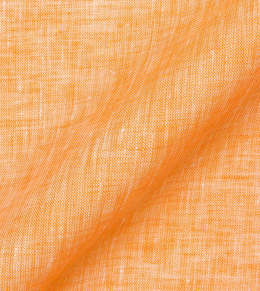 Orange Linen Orange Semi Solids by Hemrajani Product Image