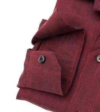 shirts linen and blends crimson linen red solids