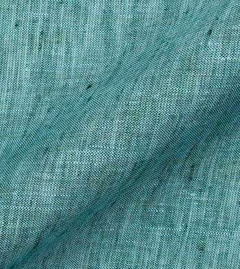 shirts linen and blends green linen green aqua semi solids