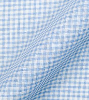 shirts linen and blends light blue gingham linen light blue check