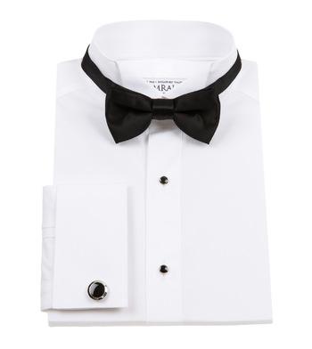 tuxedo shirts snowy tuxedo poplin