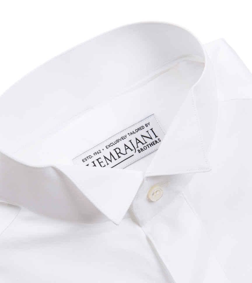 The Snowy Tuxedo Poplin by Hemrajani Executive Product Image
