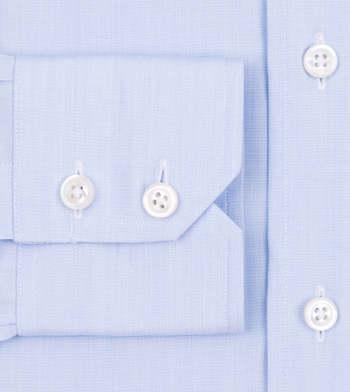 custom tailored shirts virginia sky blue end on end