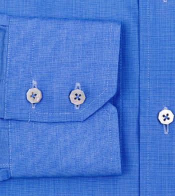 shirts cotton atlantic blue blue solids