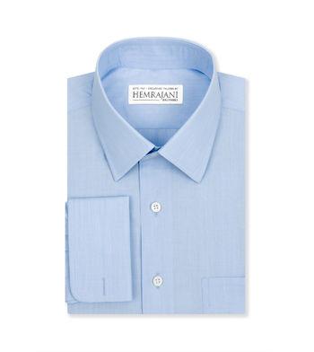custom tailored shirts carolina blue end on end