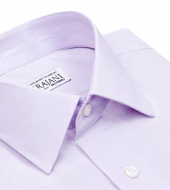 shirts cotton soft heather micro lavender striped