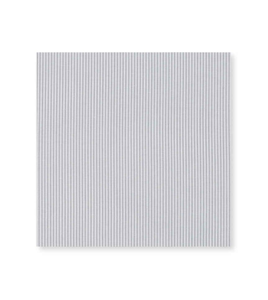 Light Gray Bengal Micro Light Grey White Striped by Hemrajani Premium Collection Product Image