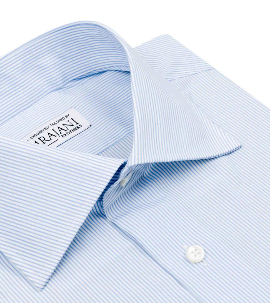 Jonathan Blue Blue Striped by Hemrajani Premium Collection Product Image
