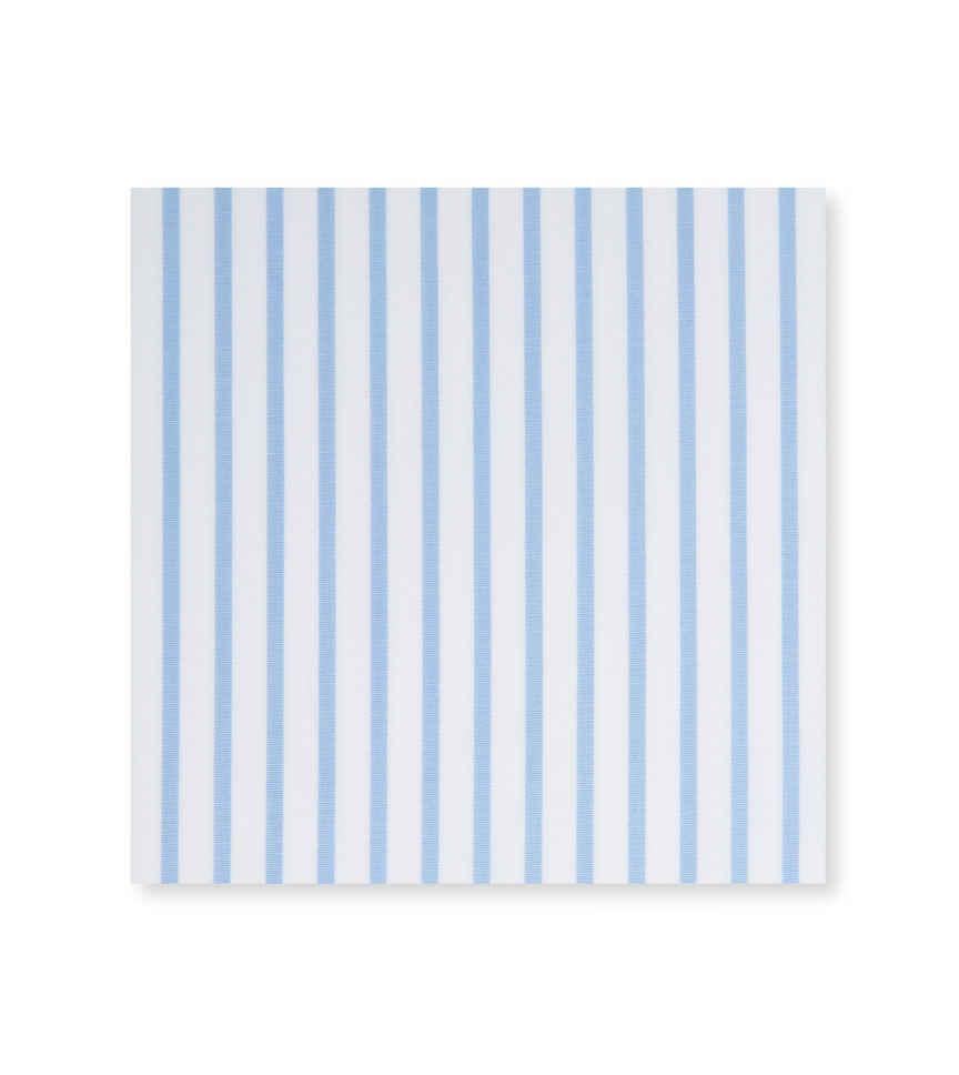 Skyline Light Blue White Striped by Hemrajani Premium Collection Product Image