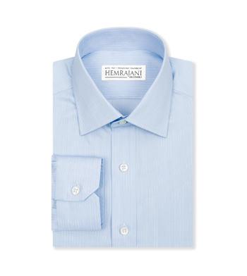 shirts cotton sky blue light blue striped 4