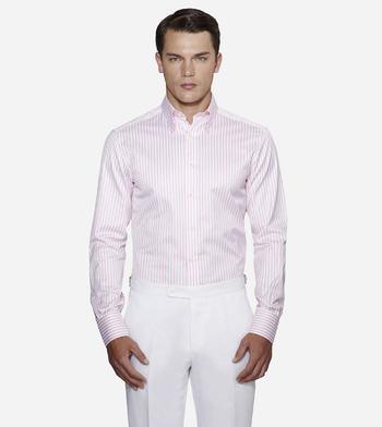 shirts cotton pink pink striped 1