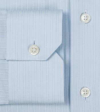 shirts cotton sky blue weave light blue striped