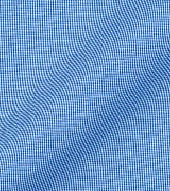 shirts cotton deep pacific blue white blue check