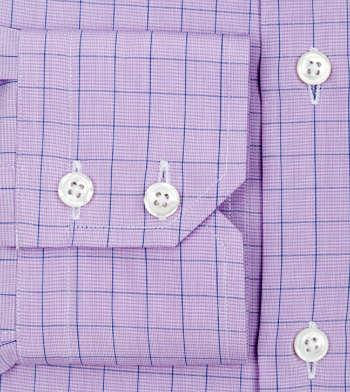 shirts cotton purple phantom and navy purple lavender check