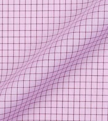 shirts cotton lemonade and carob graph pink brown check