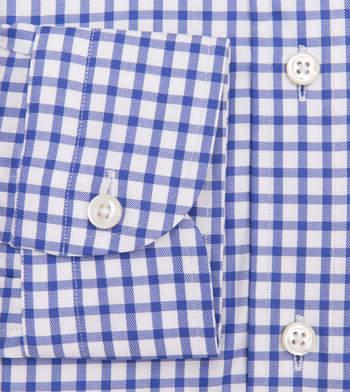 shirts cotton aegean shepherds blue white check