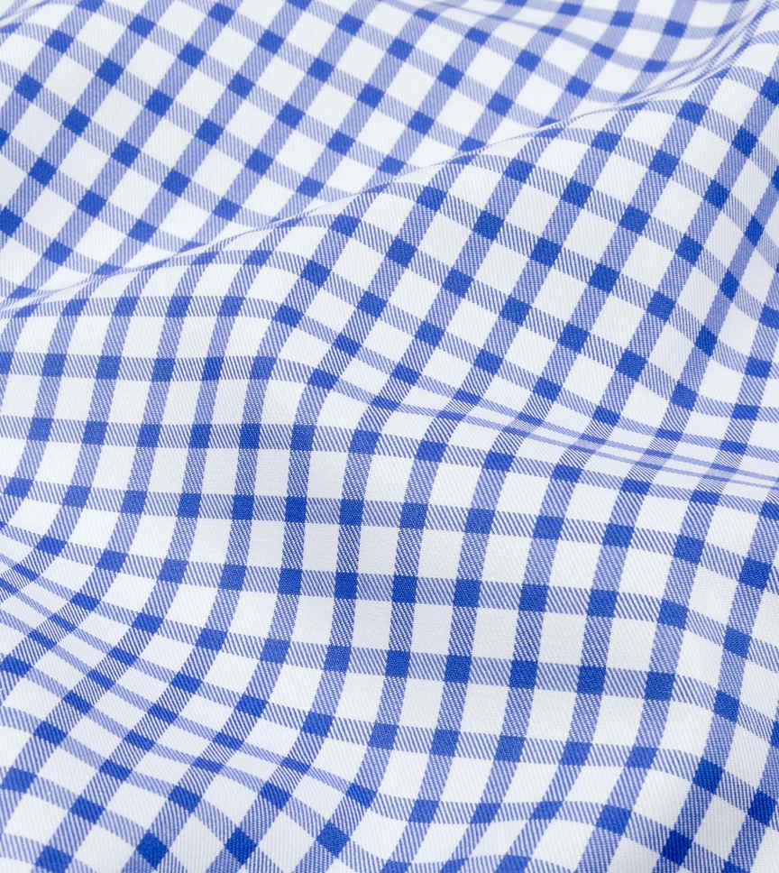 Aegean Shepherds Blue White Check by Hemrajani Premium Collection Product Image