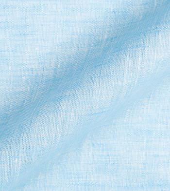 shirts linen and blends sea blue light blue semi solids