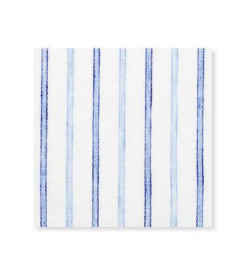 Blue on Blue Border Blue Light Blue Striped by Hemrajani Premium Collection Product Image
