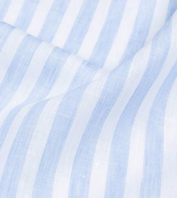 shirts linen and blends light blue from light blue striped