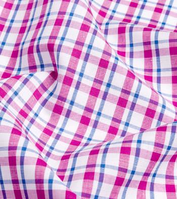 shirts linen and blends purple and blue purple blue plaid