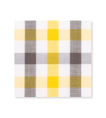 Yellow and Grey Yellow Grey Check by Hemrajani Premium Collection Product Image