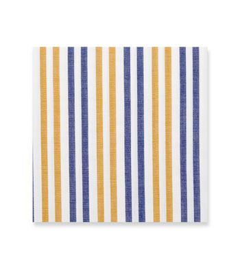 Cement Blue Tan Stripes by Hemrajani Product Image