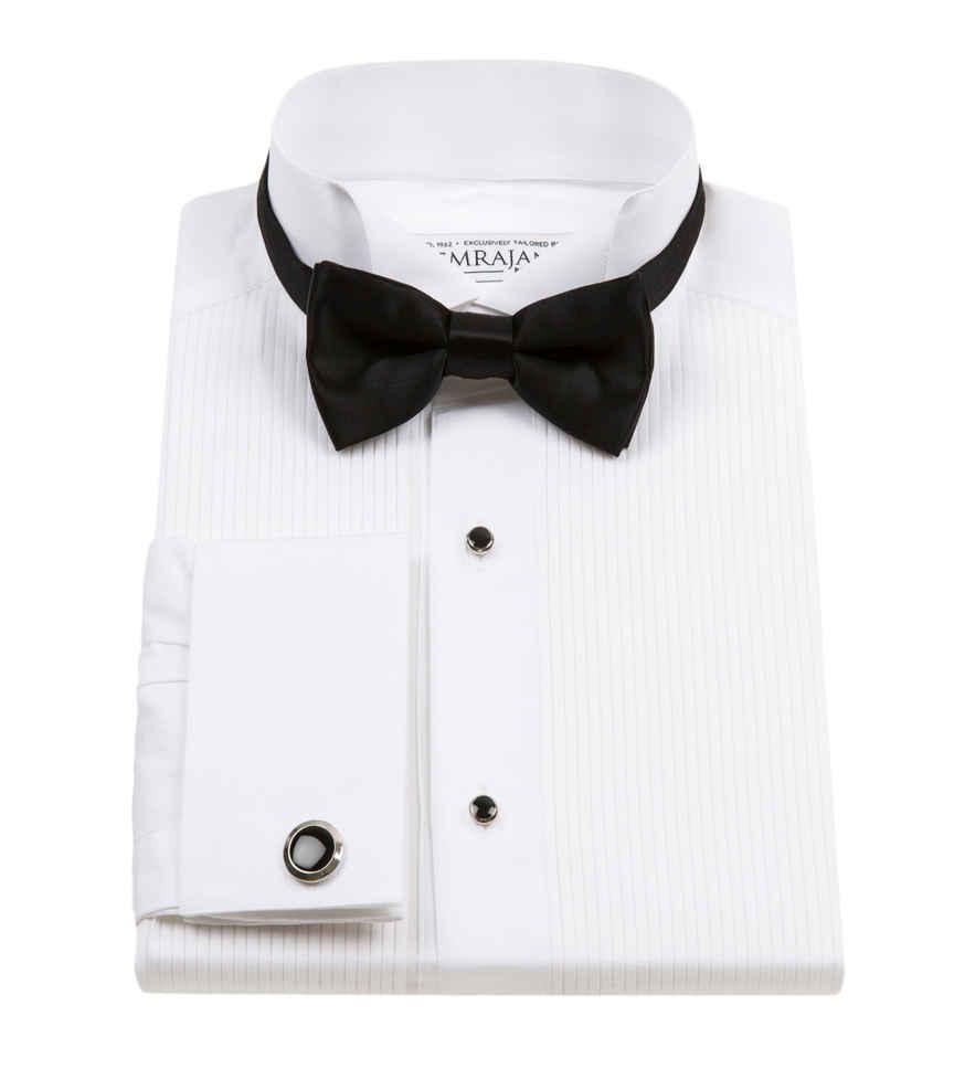 Tuxedo White Poplin Giza 87 Gatsby 120/2 Thomas Mason by Thomas Mason Product Image
