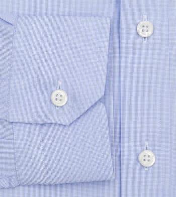 shirts cotton baby blue poplin light blue white check