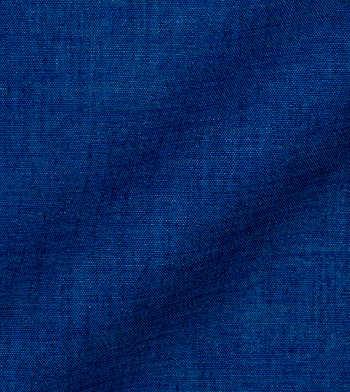 shirts linen and blends blue solids cotton linen
