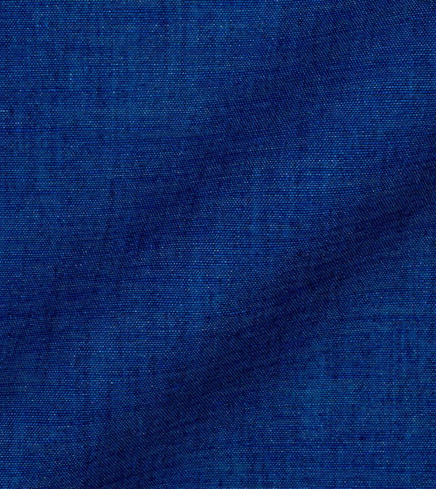 Blue Solids Cotton Linen by Thomas Mason Product Image