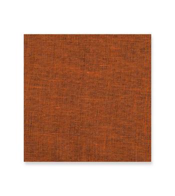 Orange Solid Shirt from Double Sided Linen Orange Side Orange Solids by Thomas Mason Product Image