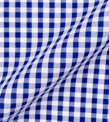 shirts cotton seersucker paloma blue gingham