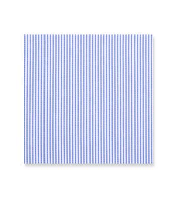 Blue Striped Shirt from Bengal Stripe Wrinkle Free by Hemrajani Product Image