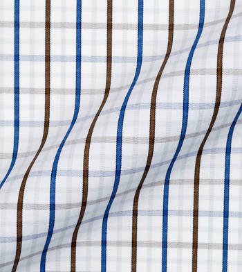 shirts pure cotton wrinkle free espresso seaport checks