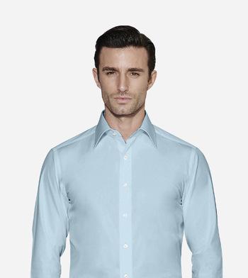 shirts pure cotton wrinkle free blue sky