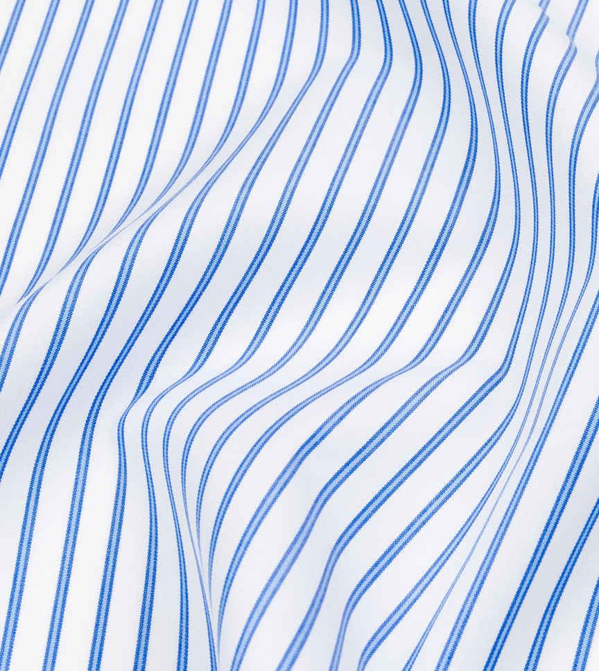 Stoneybrook Blue and White Stripe by Hemrajani Product Image