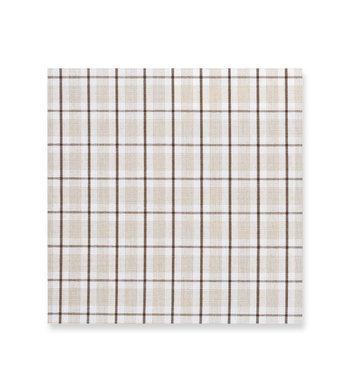 Brown/Olive/White Classic Checks Shirt by Hemrajani Product Image