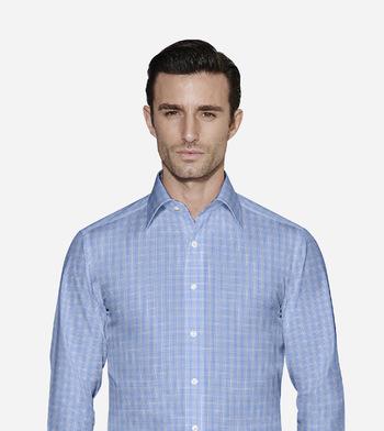 shirts pure cotton wrinkle free utah sky grid