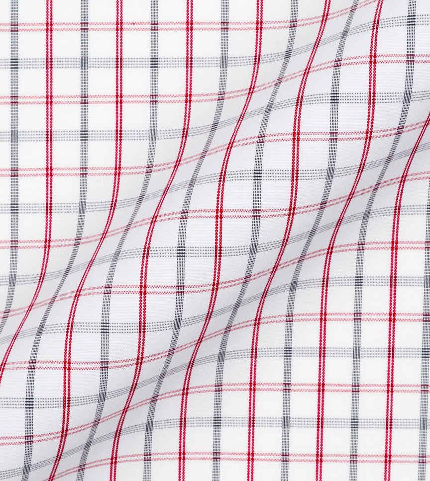 Flag Red and Grey Sky by Hemrajani Product Image