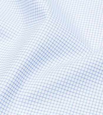 shirts pure cotton wrinkle free frosty blue wind