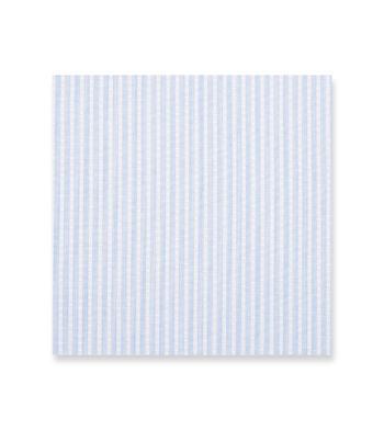 Light Blue Striped Poplin by Alumo Product Image