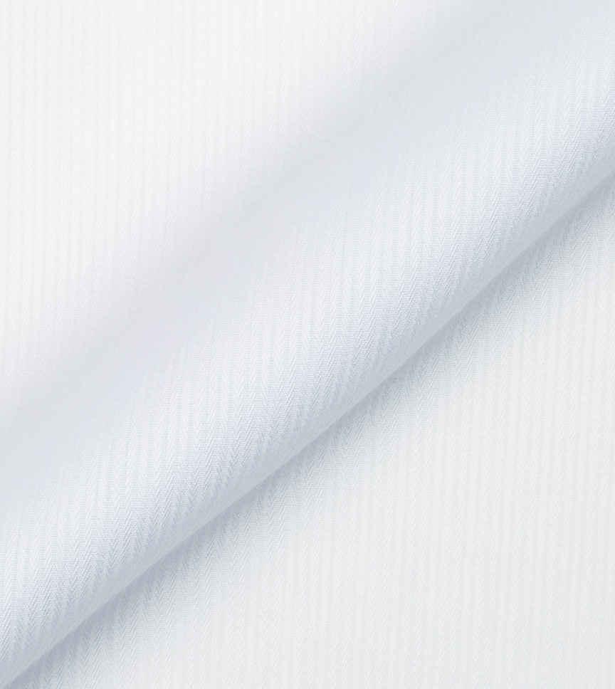 White Striped Herringbone by Alumo Product Image