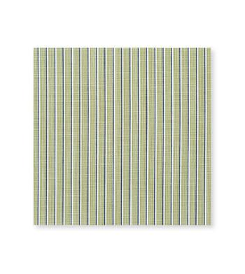 Blue Stripes on Green Poplin by Alumo Product Image
