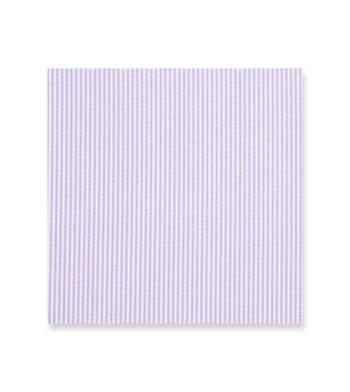 Lavender Stripes Poplin White by Alumo Product Image
